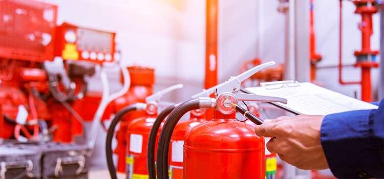 Prevenzione incendi estintori