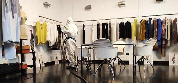 Disinfezione e sanificazione ambienti